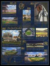 New York Yankees Time Line Poster