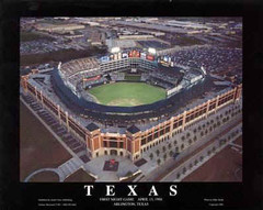 Texas Rangers Field Aerial Photo