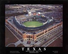 Texas Rangers Field Aerial Photo