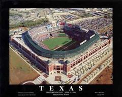 Texas Rangers Texas Day Poster