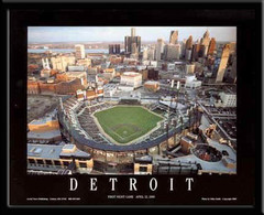 Detroit Tigers Posters Comerica Park Pictures Baseball