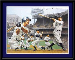 New York Yankee Legends II Limited Edition Print