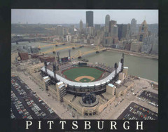 Pittsburgh Pirates' PNC Park Poster