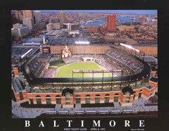 Camden Yards Photographic Poster