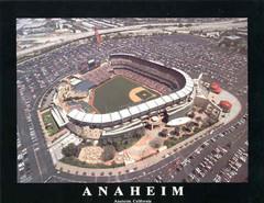Anaheim Aerial Poster