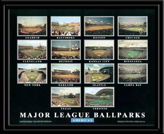 Major League Ballparks American League