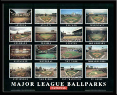 Major League Ballparks - National League