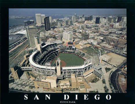 San Diego Padres' Petco Park Poster