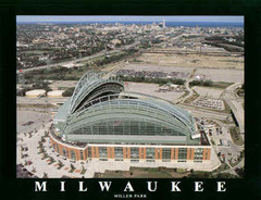 Milwaukee Brewers' Miller Park Poster