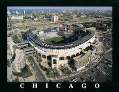 Chicago White Sox U.S. Cellular Field Poster