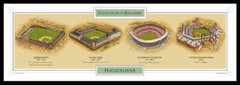 Evolution of Phillies Ballpark Poster