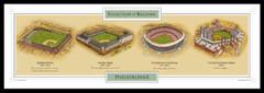 Evolution of Phillies Ballpark Poster