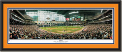 Houston Astros 2004 NLCS Game 4 Print Double Matted Black Frame
