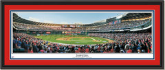 Washington Nationals RFK Stadium Inaugural Game Double Matting and Black Frame