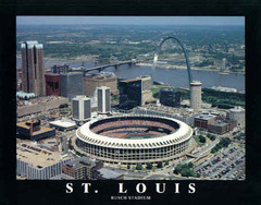 Busch Stadium Aerial Photo