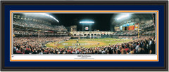 Houston Astros 2005 World Series Panoramic Double Matted Black Frame