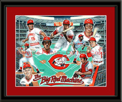 Cincinnati Reds Big Red Machine Print