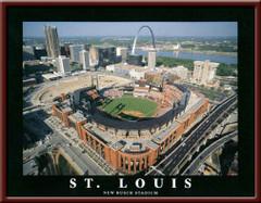 St. Louis Cardinals' New Busch Stadium Poster