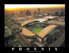Chase Field Poster - Arizona Diamondbacks Baseball