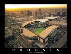 Chase Field Poster - Arizona Diamondbacks Baseball