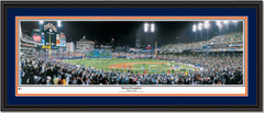 Detroit Tigers Comerica Park Sweep Sensation Double Mat Black Frame
