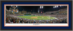 Detroit Tigers Comerica Park Home Run Delivery Double Mat Black Frame