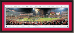 St. Louis Cardinals, 2006 World Champions Celebration Signature Edition DOUBLE MATTING and BLACK FRAME