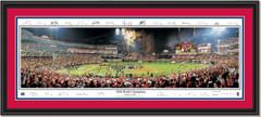 St. Louis Cardinals, 2006 World Champions Celebration Signature Edition DOUBLE MATTING and BLACK FRAME