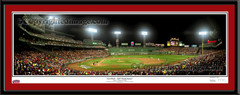 Boston Red Sox Fenway Park First Pitch 2007 World Series matted