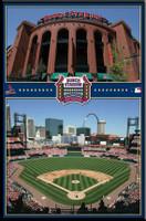 St. Louis Cardinals' Busch Stadium Poster