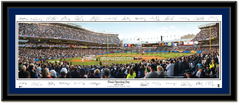 New York Yankees Final Opening Day with Signatures
