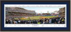 New York Yankees Final Opening Day with Signatures Double Matting