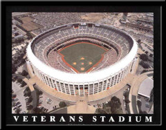 Philadelphia Phillies Veterans Stadium Aerial Photo