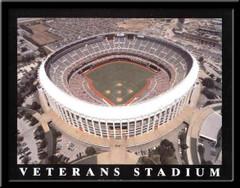Philadelphia Phillies Veterans Stadium Aerial Photo