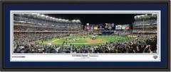 NY Yankees 2009 World Series Champions Panoramic Celebration Poster