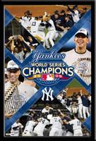 Yankees 2009 World Series Champions Celebration Poster