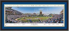 Kansas City Royals True Blue Traditions With Signatures Framed Poster DOUBLE MATTING and BLACK FRAME