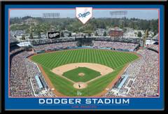 LA Dodgers Dodger Stadium Framed Poster