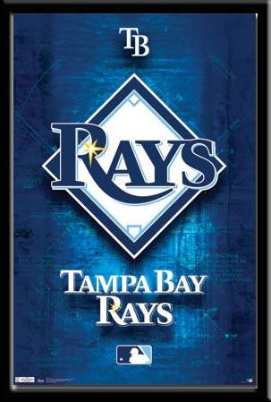 Tampa Bay Rays Logo Poster