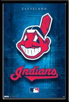 Cleveland Indians Framed Logo Poster