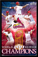 St. Louis Cardinals World Series 2011 Champions Poster