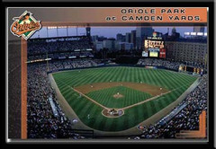 Oriole Park at Camden Yards Framed Poster