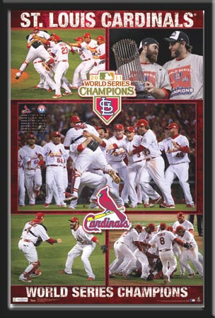 St. Louis Cardinals 2011 World Series Celebration Poster