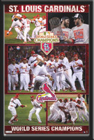 St. Louis Cardinals 2011 World Series Celebration Poster
