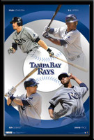 Tampa Bay Rays Star Player Poster