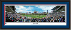 Chicago Cubs Wrigley Field Second Inning Panoramic Picture Double Matted