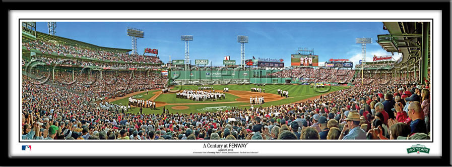 Boston Red Sox A Century at Fenway Framed Print no mat