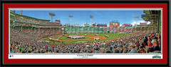 Boston Red Sox A Century at Fenway Framed Print matted