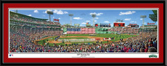 Fenway Park 100th Opening Day Anniversary Print matted
