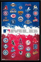 MLB Team Logo Framed Picture